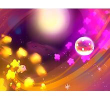 Kirby's Battle Against the Nightmare Photographic Print