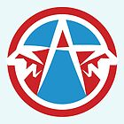 Captain America Logo by TheFrisby