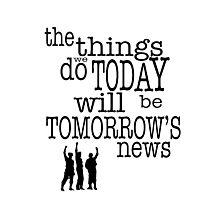 Tomorrow's News Photographic Print