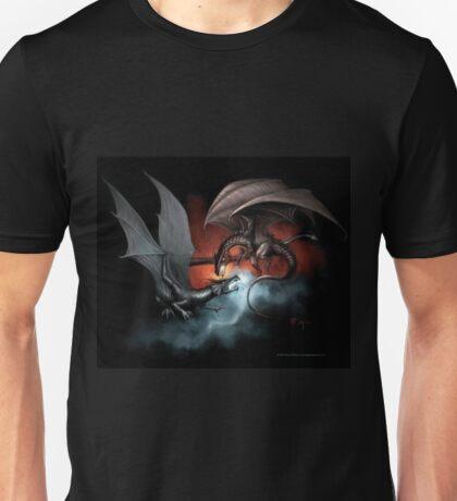 Fire vs. Ice Dragons Unisex T-Shirt