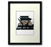 Black Star from Soul Eater Framed Print