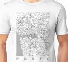 Porto Map Line Unisex T-Shirt