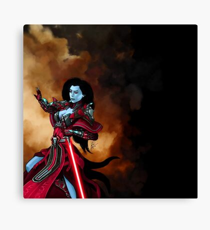 Chiss Sith Inqusitor Canvas Print