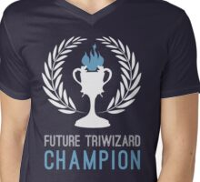 Triwizard World Cup Champ Mens V-Neck T-Shirt