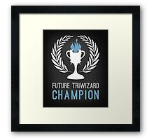 Triwizard World Cup Champ Framed Print