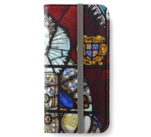 Queen Elizabeth I Stained Glass  iPhone Wallet/Case/Skin