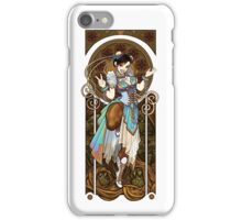 Strongest Woman in the World  (Art Nouveau China) iPhone Case/Skin
