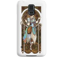 Strongest Woman in the World  (Art Nouveau China) Samsung Galaxy Case/Skin