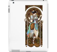 Strongest Woman in the World  (Art Nouveau China) iPad Case/Skin