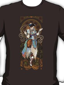 Strongest Woman in the World  (Art Nouveau China) T-Shirt