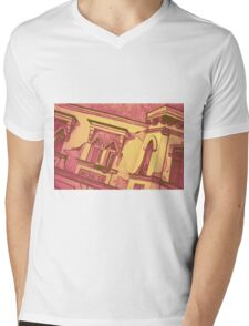 Drawing of an old Venetian Palace Mens V-Neck T-Shirt