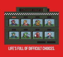 Difficult Choices One Piece - Short Sleeve