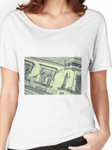 Drawing of an old Venetian Palace Women's Relaxed Fit T-Shirt