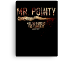 Mr. Pointy Canvas Print