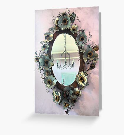 Mirror, Mirror, On the Wall. Greeting Card