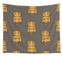 Ethnic Robot Wall Tapestry