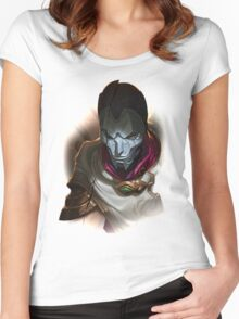 League of Legends - Jhin Women's Fitted Scoop T-Shirt