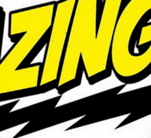 BAZINGA! Sticker