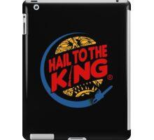 Hail to the king iPad Case/Skin