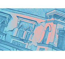 Drawing of an old Venetian Palace Photographic Print