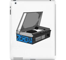 Retro Record Player Love Zebodia iPad Case/Skin