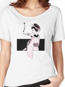 Oiran (White Version) Women's Relaxed Fit T-Shirt