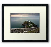 South Stack Lighthouse Framed Print