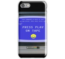 C64 - Press Play on Tape iPhone Case/Skin