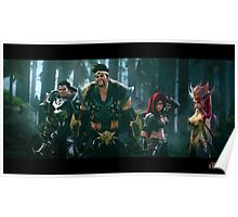 Draven Darius Katarina & Team / League of Legends Poster