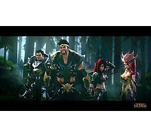 Draven Darius Katarina & Team / League of Legends Photographic Print