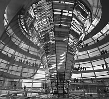 Reichstag Dome by Nicholas Coates