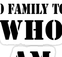"""Orphan Black - """"Just One"""" Riddle Sticker"""