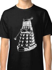 Dalek (white) Classic T-Shirt