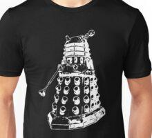Dalek (white) Unisex T-Shirt