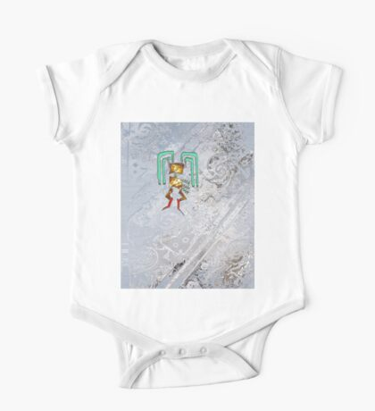 Inca Bunny and Cat One Piece - Short Sleeve