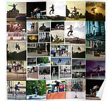 dexter skateboard Poster