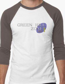 Green Hill Zone Men's Baseball ¾ T-Shirt