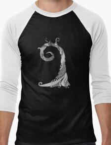 Ancient Lizard Tree T-shirt Men's Baseball ¾ T-Shirt