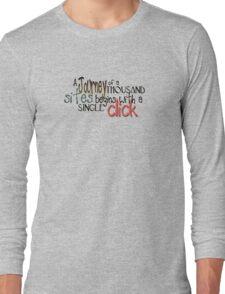 spelling text 1 Long Sleeve T-Shirt