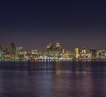 Liverpool Waterfront Panorama 2016 by Paul Madden
