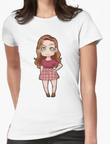 Lydia sticker  Womens Fitted T-Shirt
