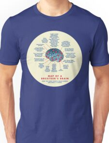 BREXIT BRAIN MAP Unisex T-Shirt