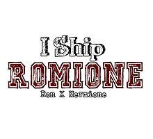 I Ship Romione Photographic Print