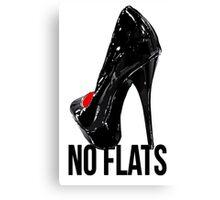 Drag - No Flats Canvas Print