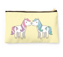 unicorn kisses Studio Pouch