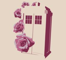 A Rose for the Doctor (pink) by DavidHedgehog