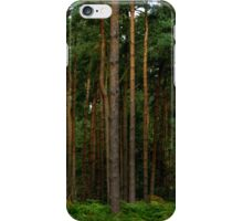 Green Forest Nature Scene iPhone Case/Skin
