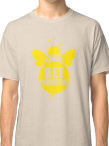 Bee Productive Cool Bee Graphic Typo Design Classic T-Shirt