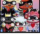 Artist Monsters by alphabetty