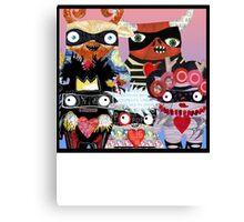 Artist Monsters Canvas Print